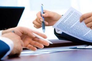 документы для подписания