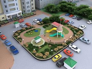 Благоустройство придомовых территорий многоквартирных домов